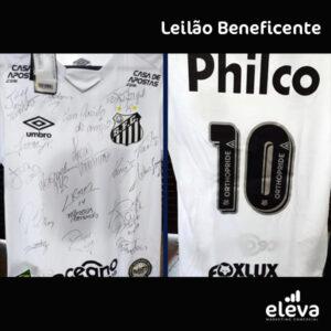 SANTOS FC, ELEVA MARKETING COMERCIAL e GLOBO LEILÕES  promovem LEILÃO BENEFICENTE em prol das vítimas do incidente  trágico ocorrido no LÍBANO neste ano.